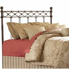 leggett u0026 platt fashion bed group argyle headboard copper chrome