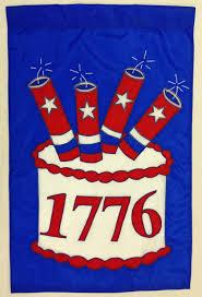 1776 american birthday cake patriotic banner flag flagladyusa com