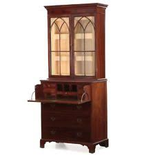 secretary desk with bookcase mahogany secretary antique furniture ebay