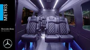 luxury mercedes van mercedes benz metris concept luxury van youtube