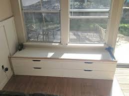 window seat ikea window seat ikea hack progress diy pinterest ikea hack