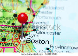 massachusetts on a map boston map stock images royalty free images vectors