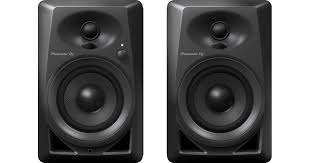 Pioneer Photo Box Dm 40 4 Inch Compact Active Monitor Speaker Black Pioneer Dj