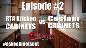 rta kitchen cabinets vs custom cabinet episode 2 youtube