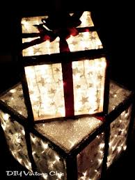 christmas present light boxes outdoor lighted christmas presents christmas gifts create and gift