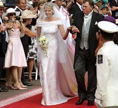 Armani Wedding Dresses Princess Charlene Arrives In Beautiful Armani Bridal Gown