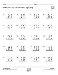addition u0026 subtraction free children u0027s worksheets u0026 educational