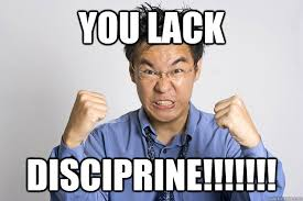 Angry Asian Meme - you lack disciprine angry asian quickmeme