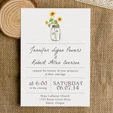 sunflower wedding invitations fall in with fall inspired wedding invitations jar