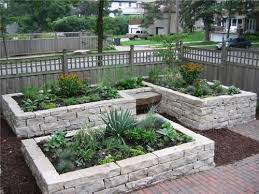 How To Build A Rock Garden Bed I Planned On A Raised Bed Out Of Cedar But This Is
