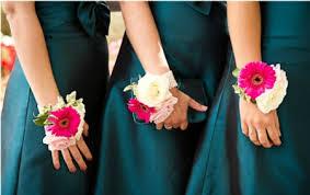 Wedding Wrist Corsage Seven Brides Who Broke The Rules