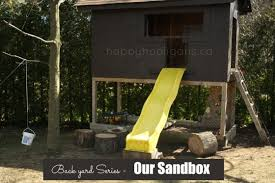 How To Build A Large Toy Box by Sandbox Ideas Easy Sandbox Play And Storage Solutions