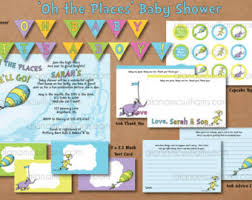 oh the places you ll go baby shower oh the places we will go baby invitations oh the places you ll