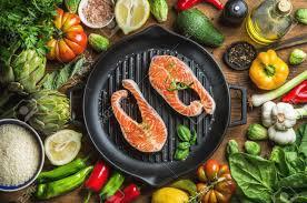 cuisine du soir ingredints de cuisine du soir poissons saumons non cuits avec