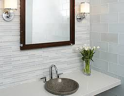 cosy decorative bathroom wall tile designs with modern home