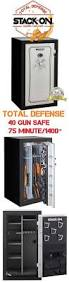 Stack On 16 Gun Double Door Cabinet V Line Closet Vault Ii In Wall Firearms And Valuables Quick