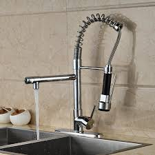 kitchen sink faucet sprayer deck mounted kitchen sink faucet with pull spray
