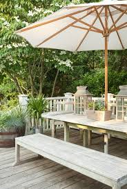 Build Outdoor Garden Table by Best 25 Picnic Table Umbrella Ideas On Pinterest Picnic Table
