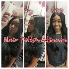hair atlanta middle part frontal sew in hair atlanta salon
