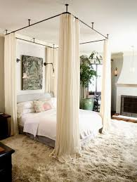 White Canopy Bed Curtains A History On Canopy Beds Goodworksfurniture