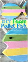 diy foam pallet fish