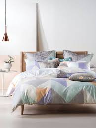 Bedding Cover Sets by Linen House Equinox Pastel Quilt Cover Set