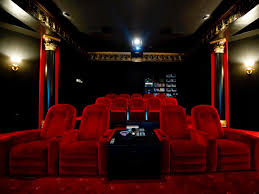 Home Theater Decorating A Family Castle And Fantasy Indoor Pool Indoor Pools Hgtv And