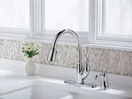leland delta kitchen faucet delta allora pull out spray kitchen faucets