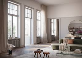 livingroom windows nordic design apartment inspiration