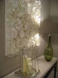 14 big and bold wall art ideas spray painting faux flowers and