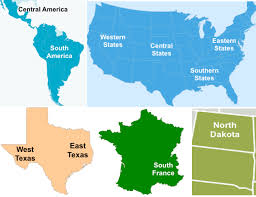 Usa Map North South East West by Nephicode The Four Seas Of The Book Of Mormon