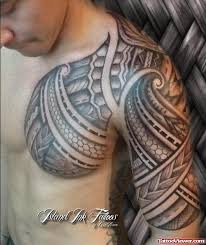 awesome polynesian chest and half sleeve viewer com