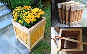 diy wooden planter for just 3 home design garden