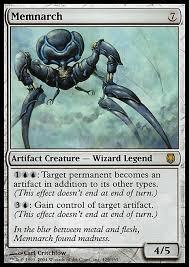 memnarch wizard control edh commander deckstats net magic