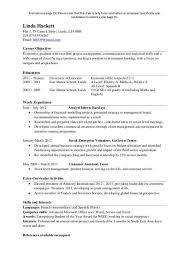 Resume Template One Page Customer Service Resume Templates Free Resume Template And