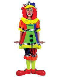 Kids Halloween Clown Costumes Spanky Stripes Clown Costume Costumes U0026 Cosplay