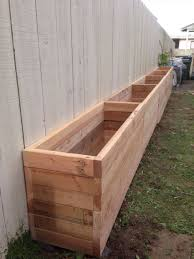 2x4 planter box our backyard is narrow so we want to take