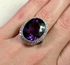 amethyst engagement rings bcs sale magnificent late edwardian platinum amethyst diamond