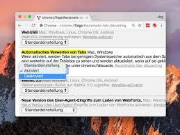 Chrome Flags Android Tabs In Google Chrome Nicht Verwerfen Techbook