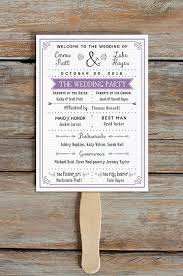 wedding program templates 15 lovely free printable wedding program templates