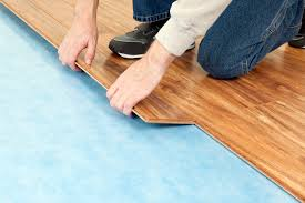 Laminate Flooring And Fitting Flooring Underlayment Materials And Applications