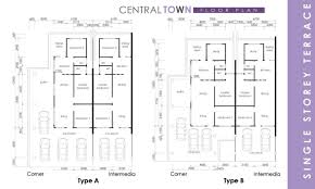 Single Storey Floor Plans by Central Town Single Storey Kwang Tai