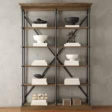 distressed wood bookshelves american hwy