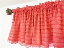 bedroom wonderful coral window panels blue sheer curtains salmon