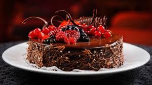 new year chocolate chocolate cake for new year