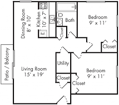 floor plan for two bedroom apartment inspirations including flat