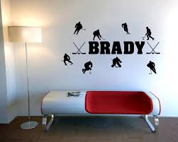 bedroom heavenly compare prices hockey wall art online