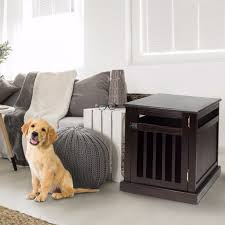 newport pet crate end table casual home pet crate end table table designs