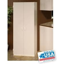 Plastic Cabinets Pantry Cabinet Plastic Pantry Cabinet With Sterilite Shelf