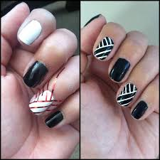 striping tape nail design mycreations pinterest tape nail